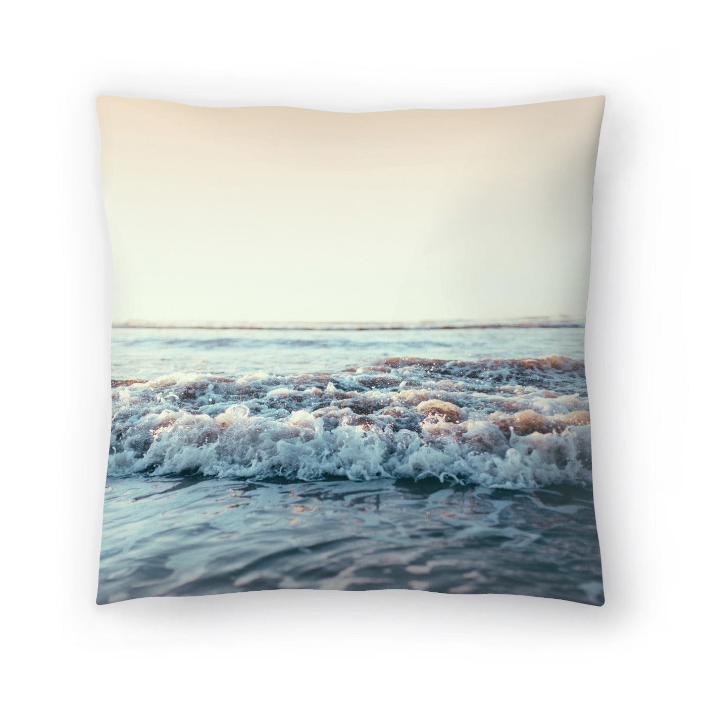 Pacific Ocean by Leah Flores  Decorative Pillow - Decorative Pillow - Americanflat