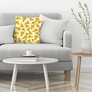 Pizza Party by Leah Flores  Decorative Pillow