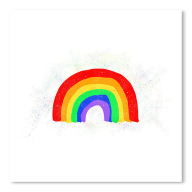 Rainbow Love by Leah Flores Art Print - Art Print - Americanflat