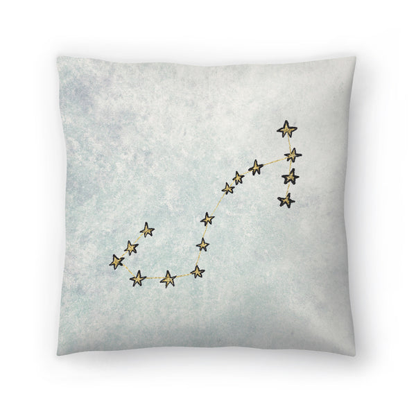 Scorpio by Leah Flores  Decorative Pillow