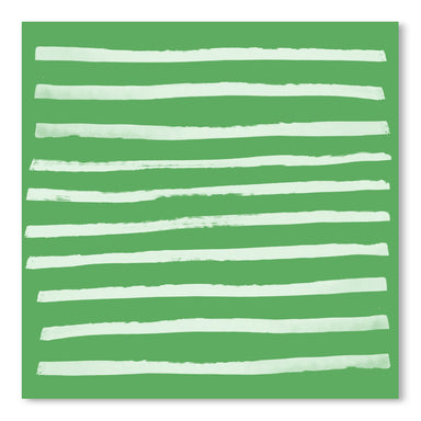 Simple Stripes Fern by Leah Flores Art Print - Art Print - Americanflat