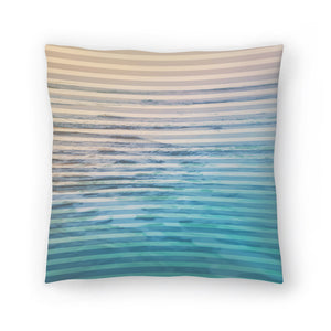 Sunrise Ocean by Leah Flores  Decorative Pillow