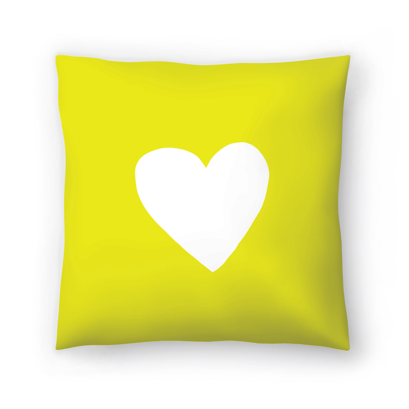 Sunshine Heart by Leah Flores  Decorative Pillow - Decorative Pillow - Americanflat