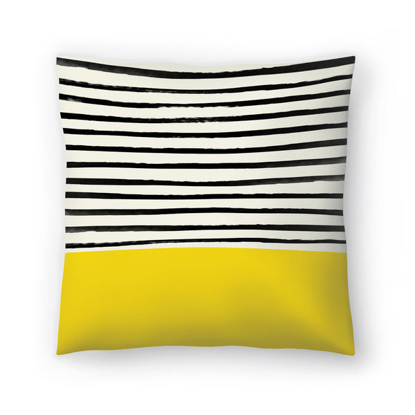 Sunshine 2 by Leah Flores  Decorative Pillow