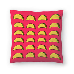 Taco Party by Leah Flores  Decorative Pillow