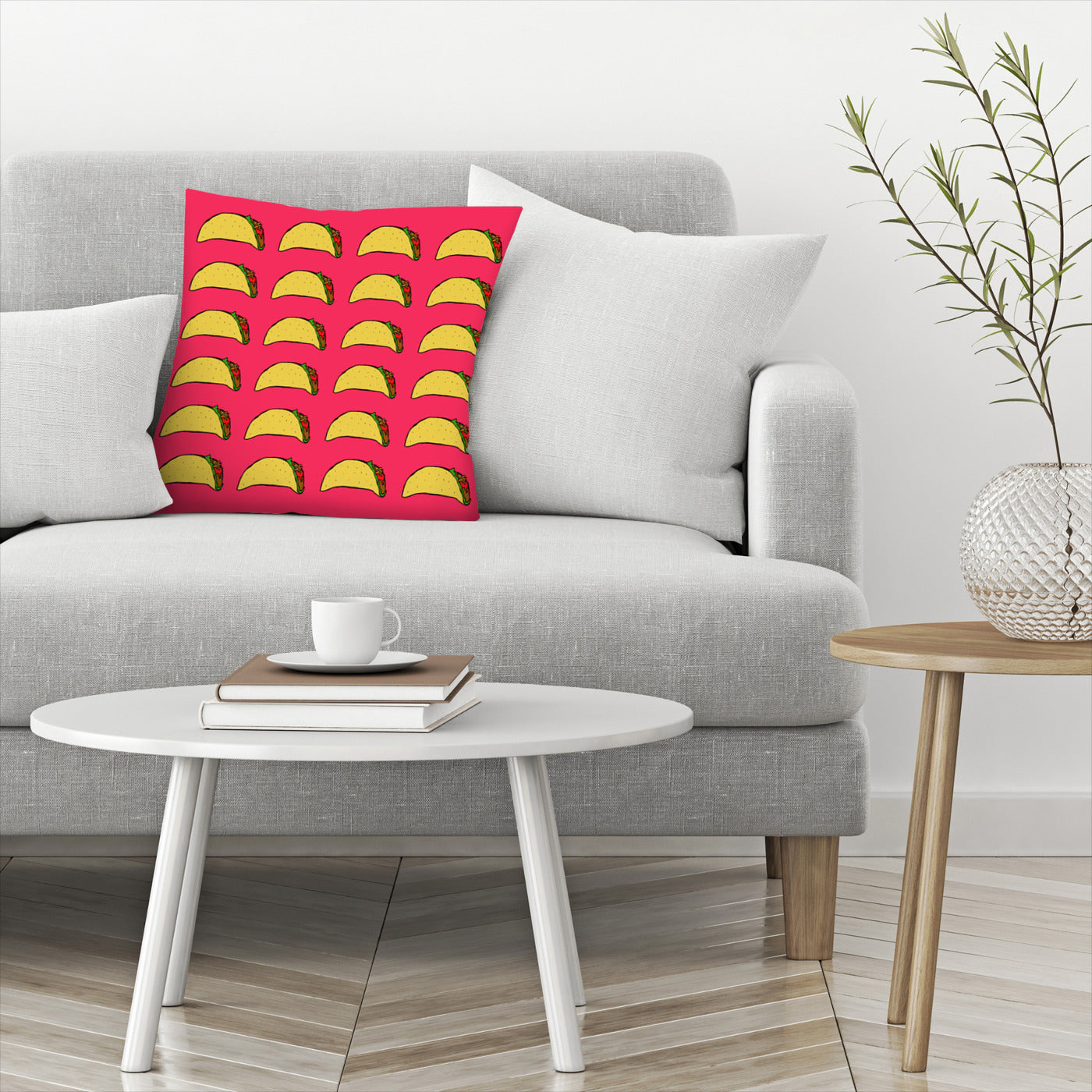 Taco Party by Leah Flores  Decorative Pillow - Decorative Pillow - Americanflat