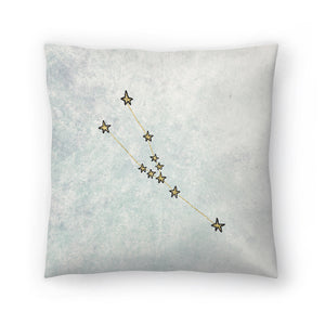 Taurus by Leah Flores  Decorative Pillow
