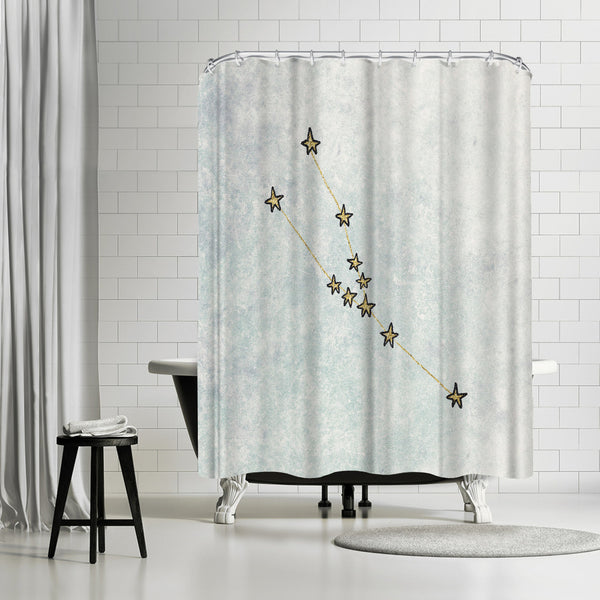 Taurus by Leah Flores Shower Curtain
