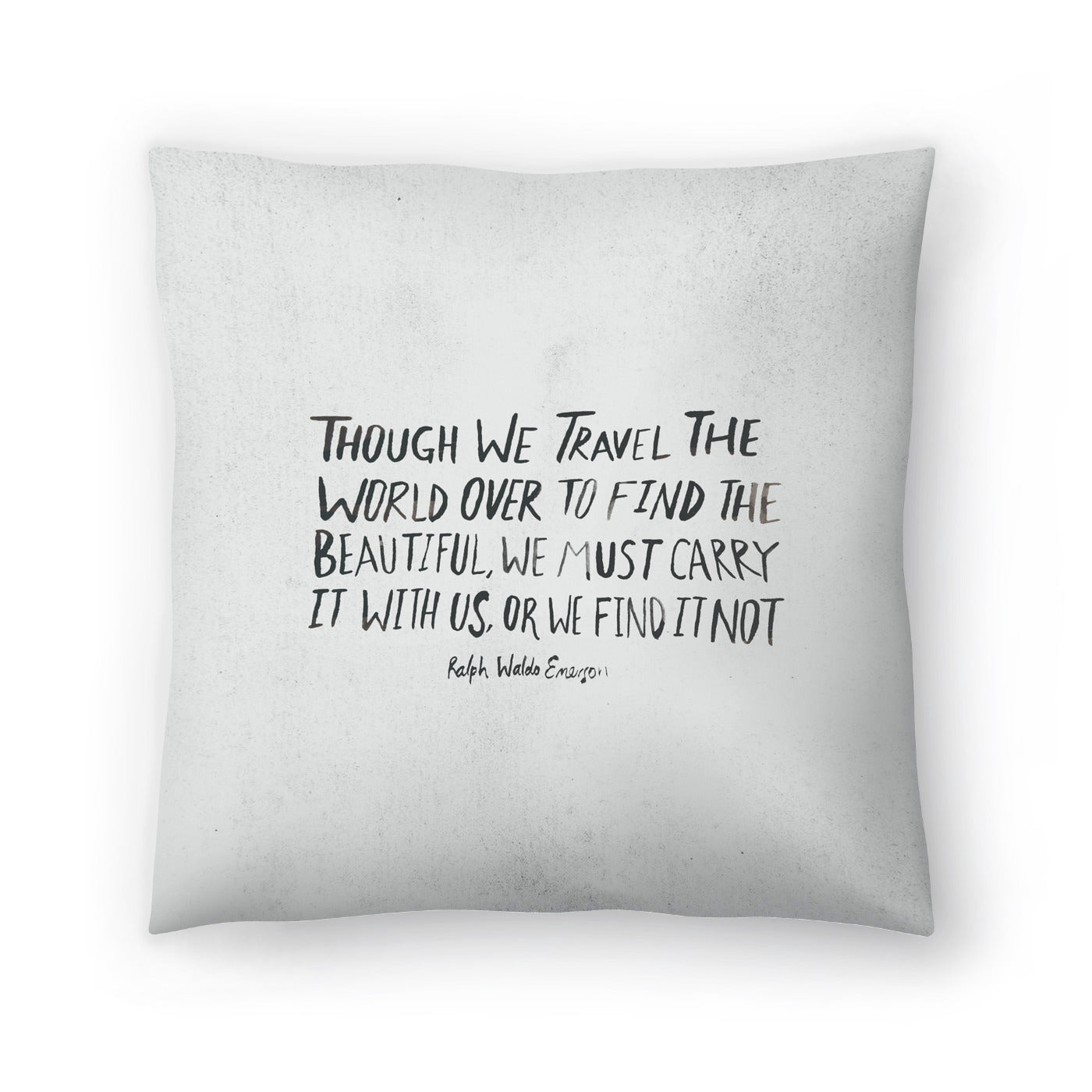 Travel Beautiful by Leah Flores  Decorative Pillow - Decorative Pillow - Americanflat
