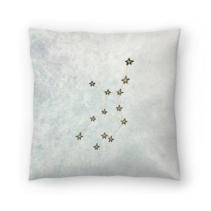 Virgo by Leah Flores  Decorative Pillow