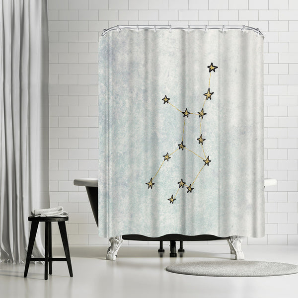Virgo by Leah Flores Shower Curtain