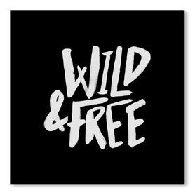Wild & Free by Leah Flores Art Print