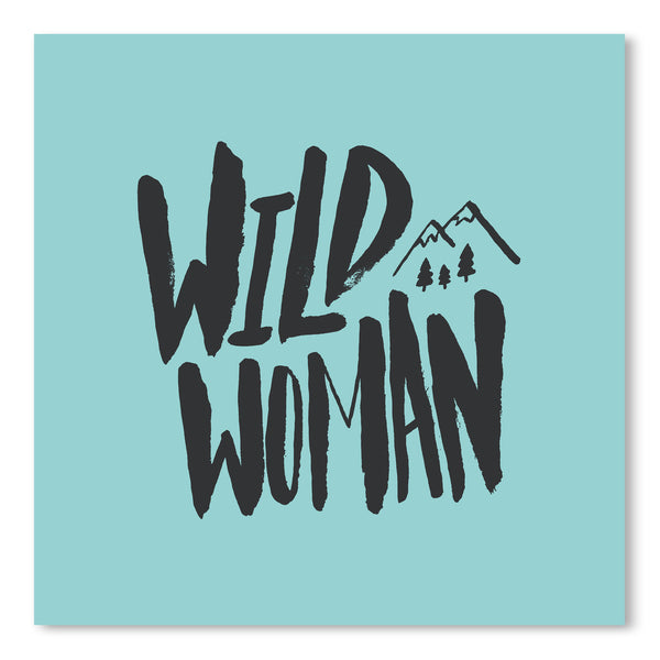 Wild Woman by Leah Flores Art Print