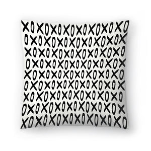 Xoxo by Leah Flores  Decorative Pillow