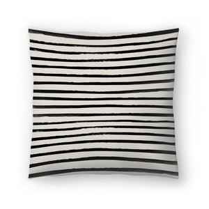 Zebra by Leah Flores  Decorative Pillow