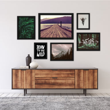 Wanderlust Photography Framed Art Set - Art Set - Americanflat