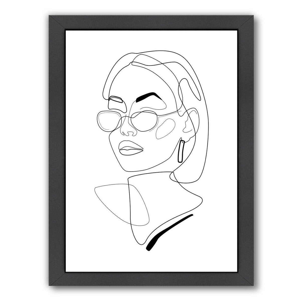 90s Look by Explicit Design Framed Print - Americanflat