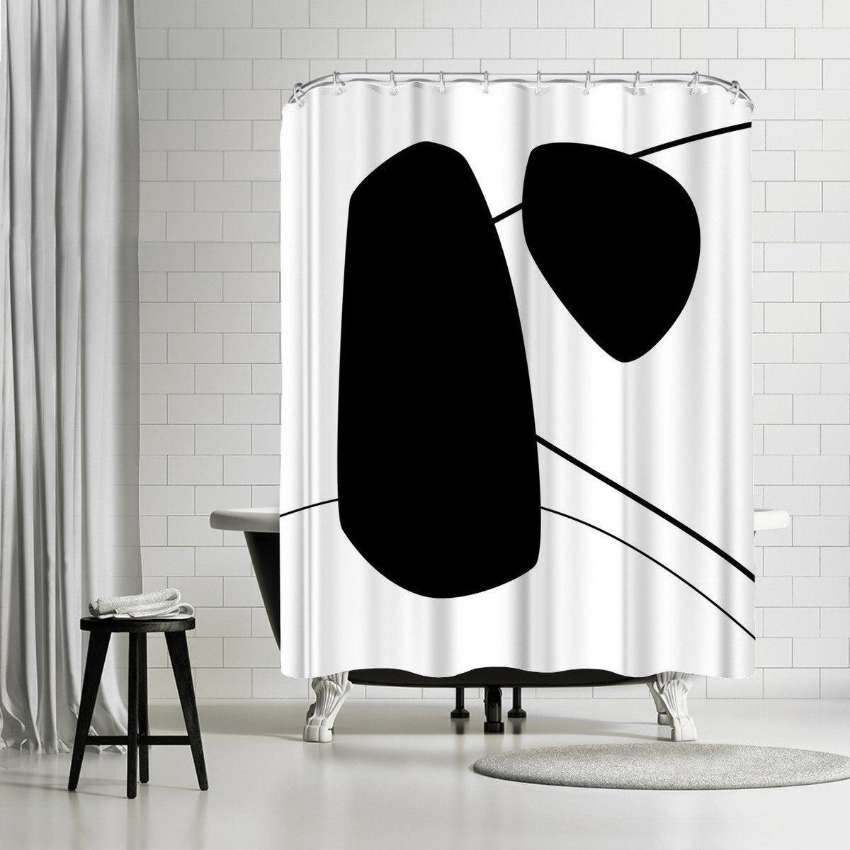 Bold by Explicit Design Shower Curtain - Shower Curtain - Americanflat