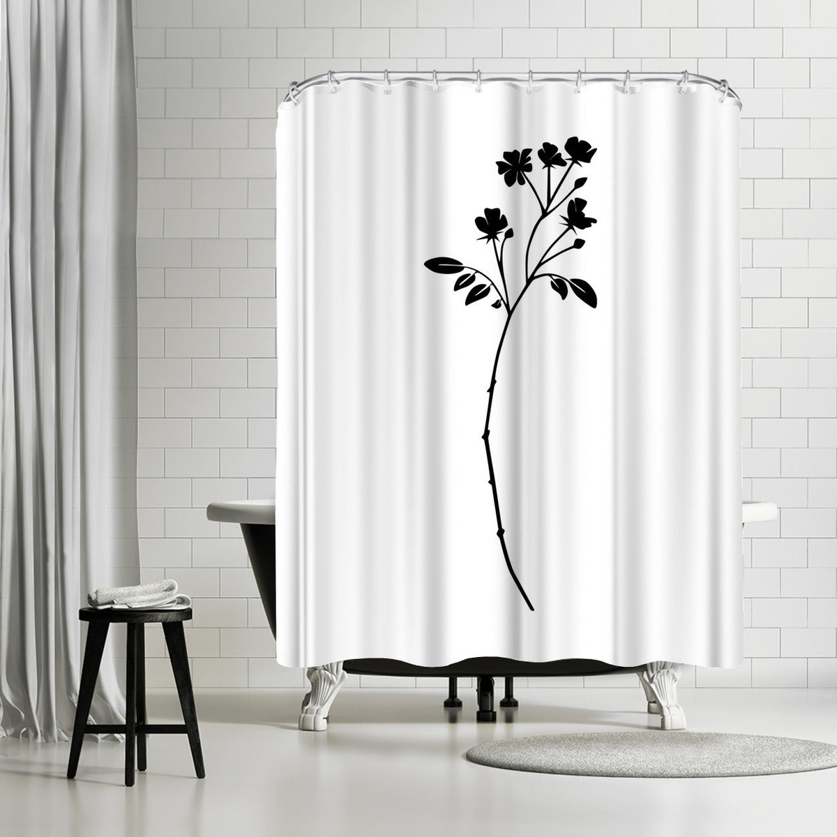 Botanic by Explicit Design Shower Curtain -  - Americanflat