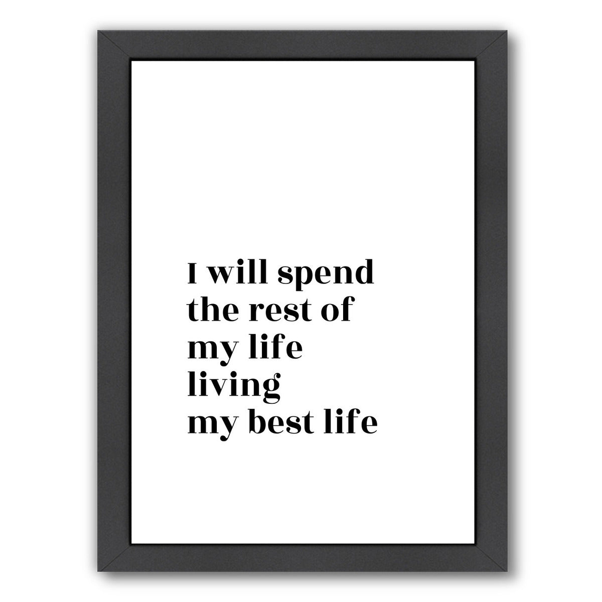 Commitment by Explicit Design Framed Print - Wall Art - Americanflat