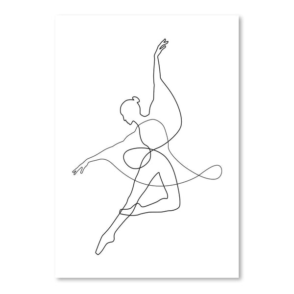 Dance by Explicit Design Art Print