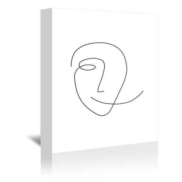 Different Smile by Explicit Design Wrapped Canvas