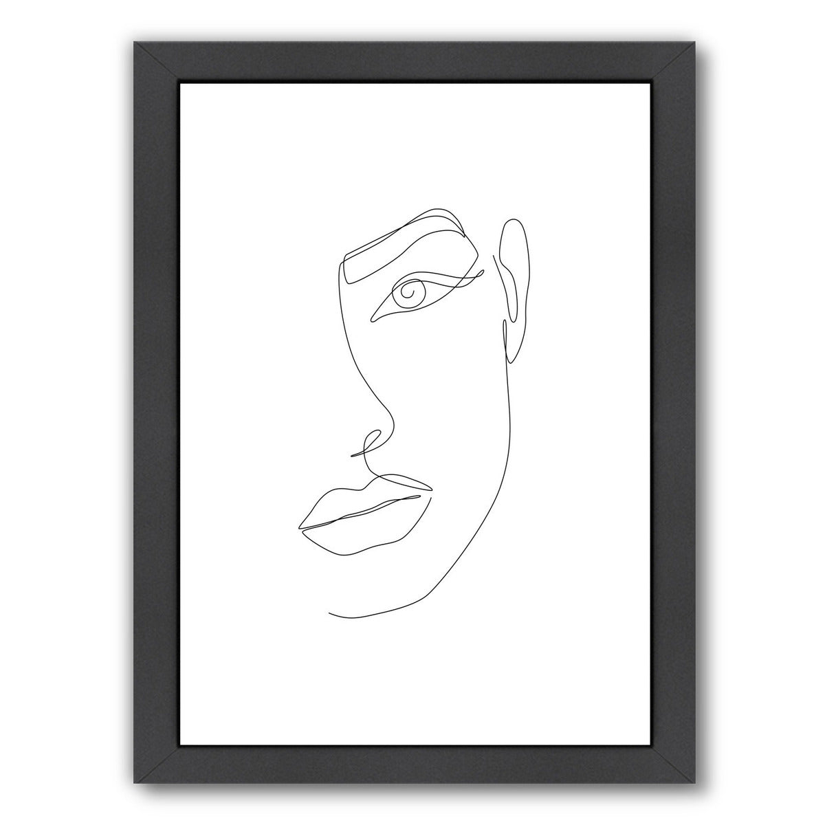 Eye Connection by Explicit Design Framed Print - Wall Art - Americanflat