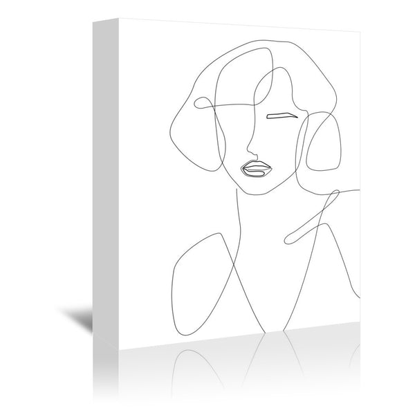 Feminine Touch by Explicit Design Wrapped Canvas