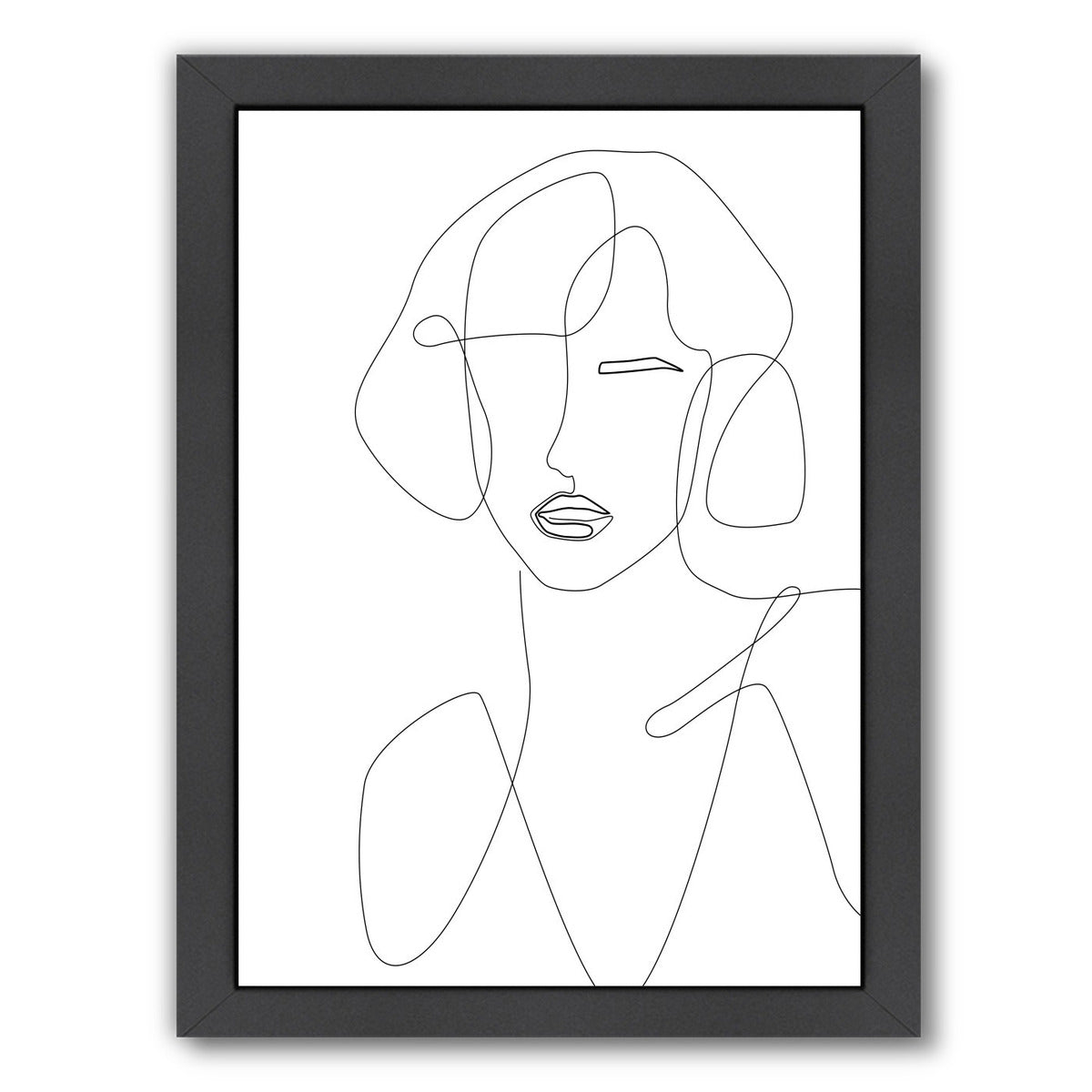 Feminine Touch by Explicit Design Framed Print - Wall Art - Americanflat