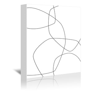 Fine by Explicit Design Wrapped Canvas