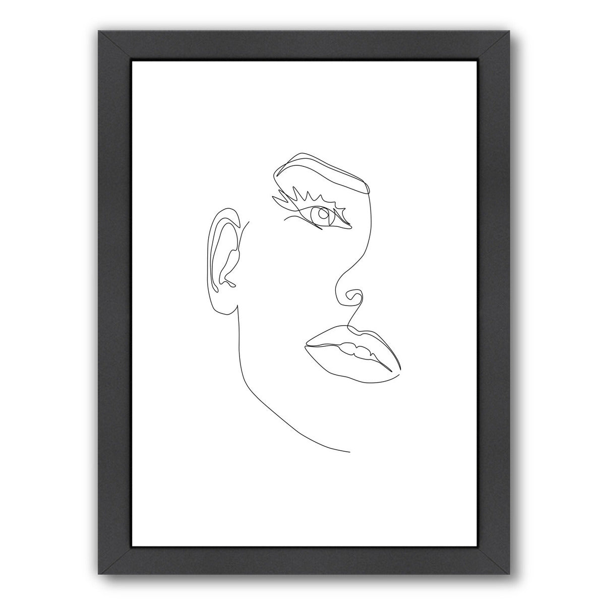 Fine Line Beauty by Explicit Design Framed Print - Wall Art - Americanflat