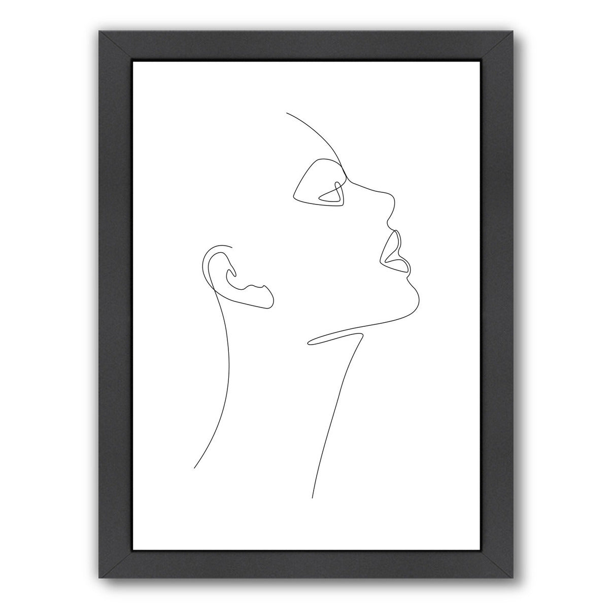 Fine Look by Explicit Design Framed Print - Wall Art - Americanflat