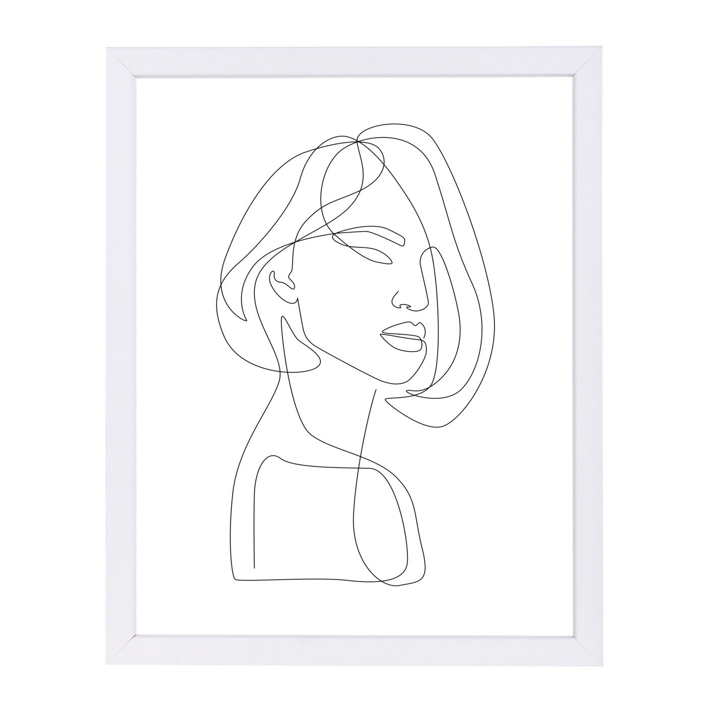 Flirty by Explicit Design Framed Print - Wall Art - Americanflat