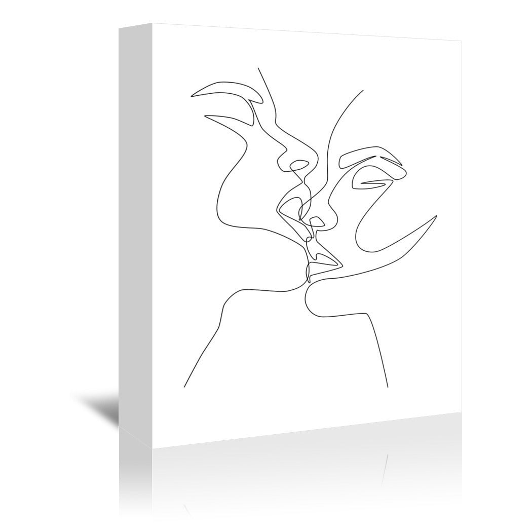 Intense & Intimate by Explicit Design Wrapped Canvas - Wrapped Canvas - Americanflat