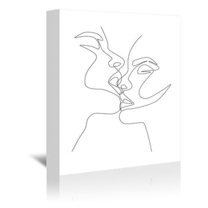 Intense & Intimate by Explicit Design Wrapped Canvas