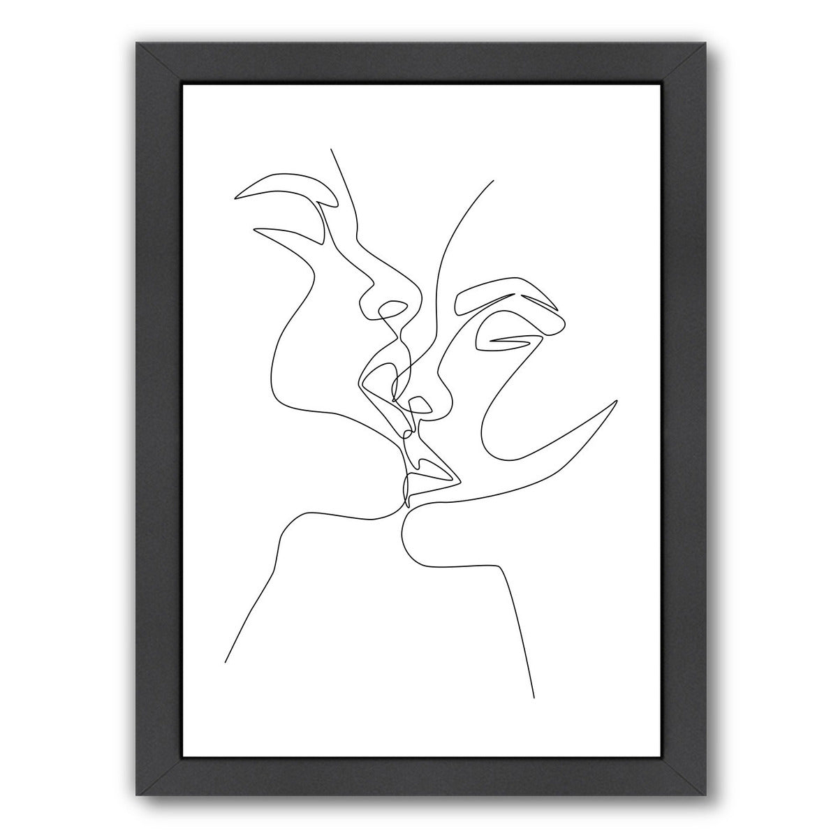 Intense & Intimate by Explicit Design Framed Print - Americanflat