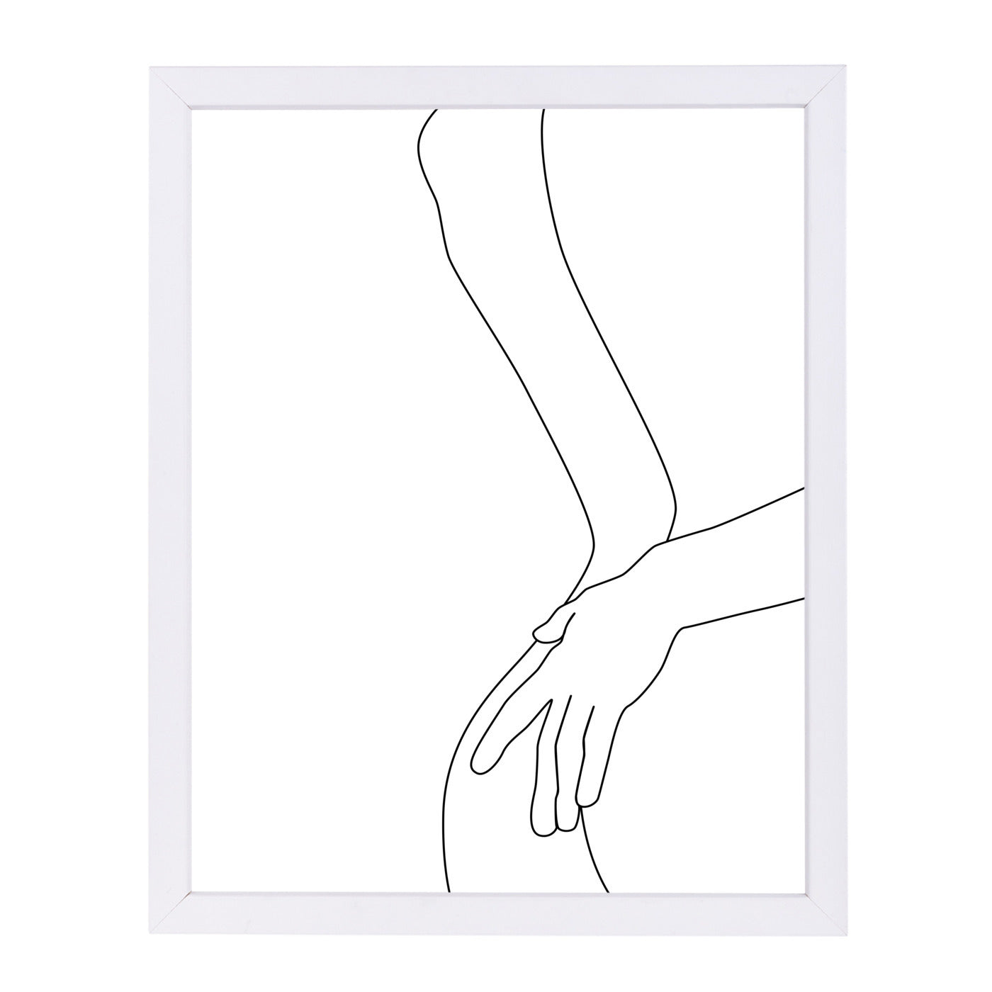 Intimacy by Explicit Design Framed Print - Wall Art - Americanflat