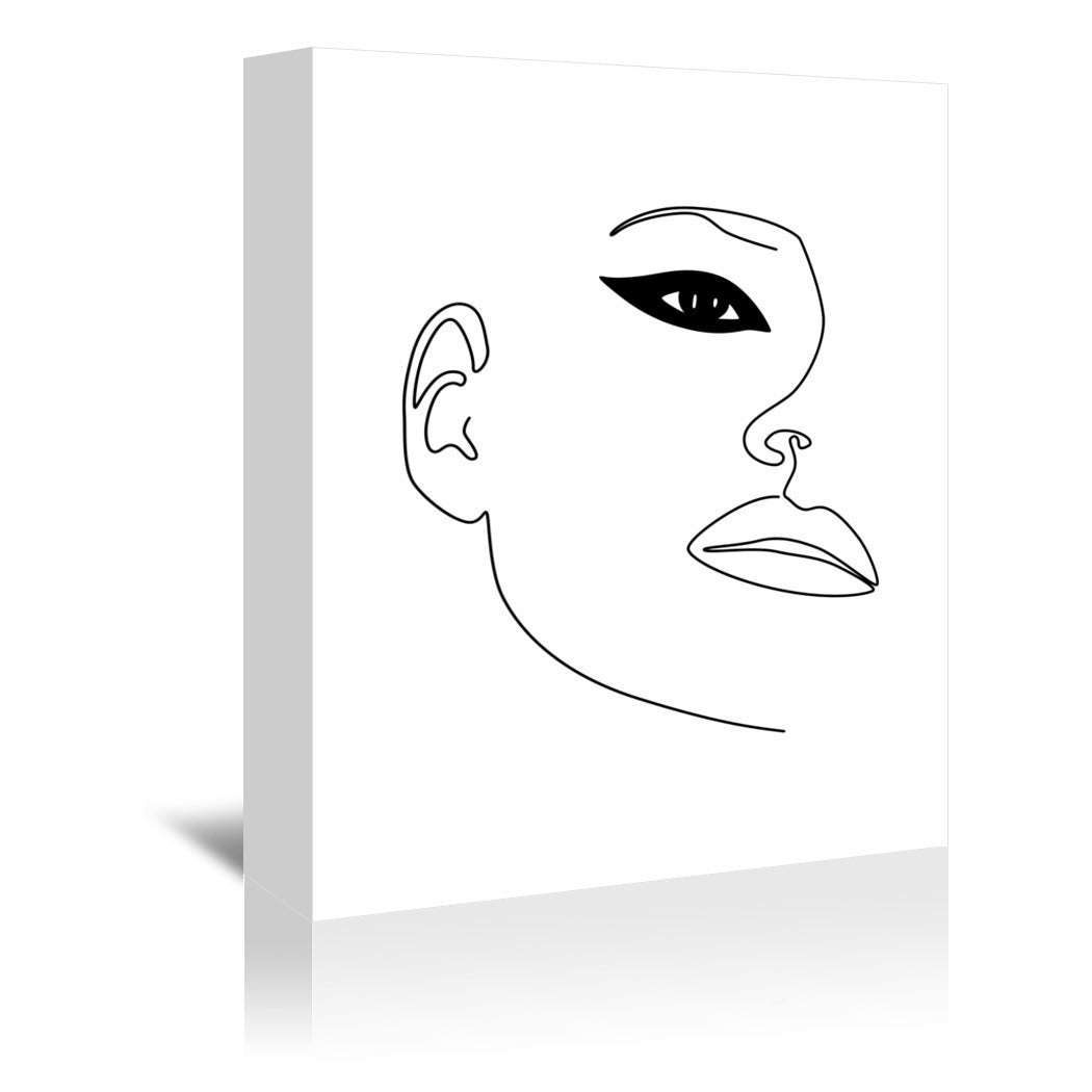 Kate Eye by Explicit Design Wrapped Canvas - Wrapped Canvas - Americanflat