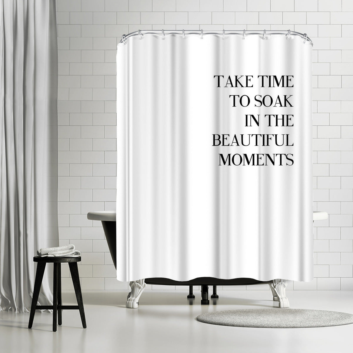 Little Beauty by Explicit Design Shower Curtain - Shower Curtain - Americanflat