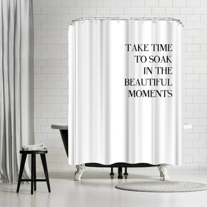 Little Beauty by Explicit Design Shower Curtain