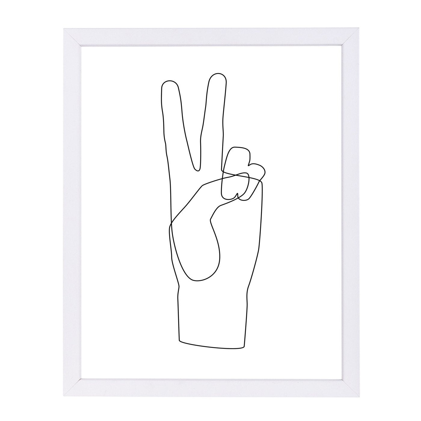 Peace by Explicit Design Framed Print - Wall Art - Americanflat