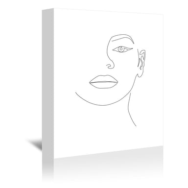 Queen B by Explicit Design Wrapped Canvas - Wrapped Canvas - Americanflat