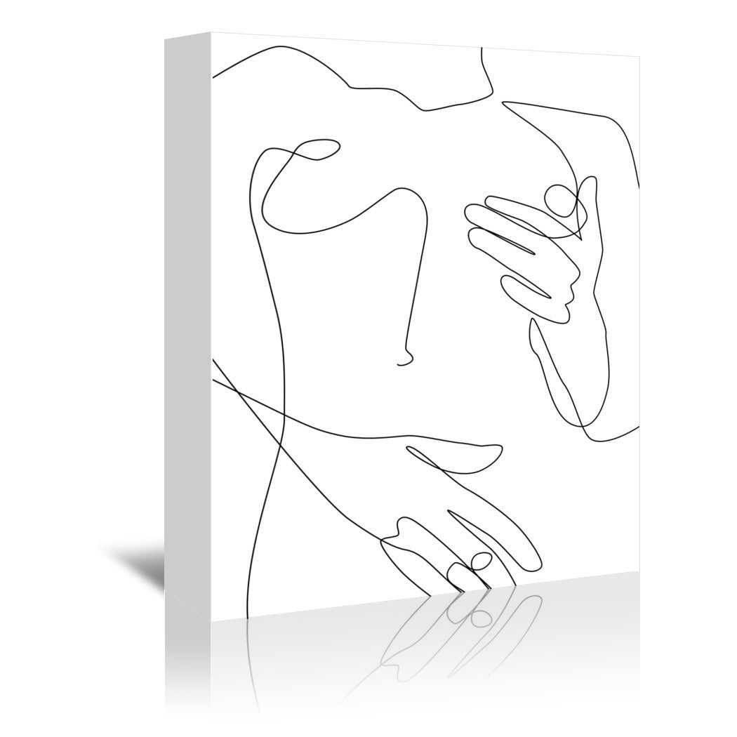 Sensual Erotic by Explicit Design Wrapped Canvas - Wrapped Canvas - Americanflat