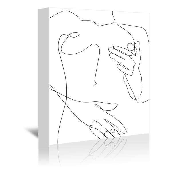 Sensual Erotic by Explicit Design Wrapped Canvas