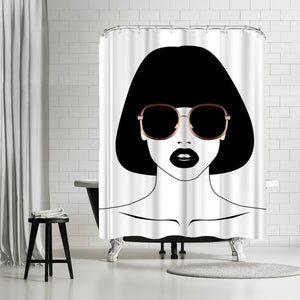 Sunny Rose by Explicit Design Shower Curtain