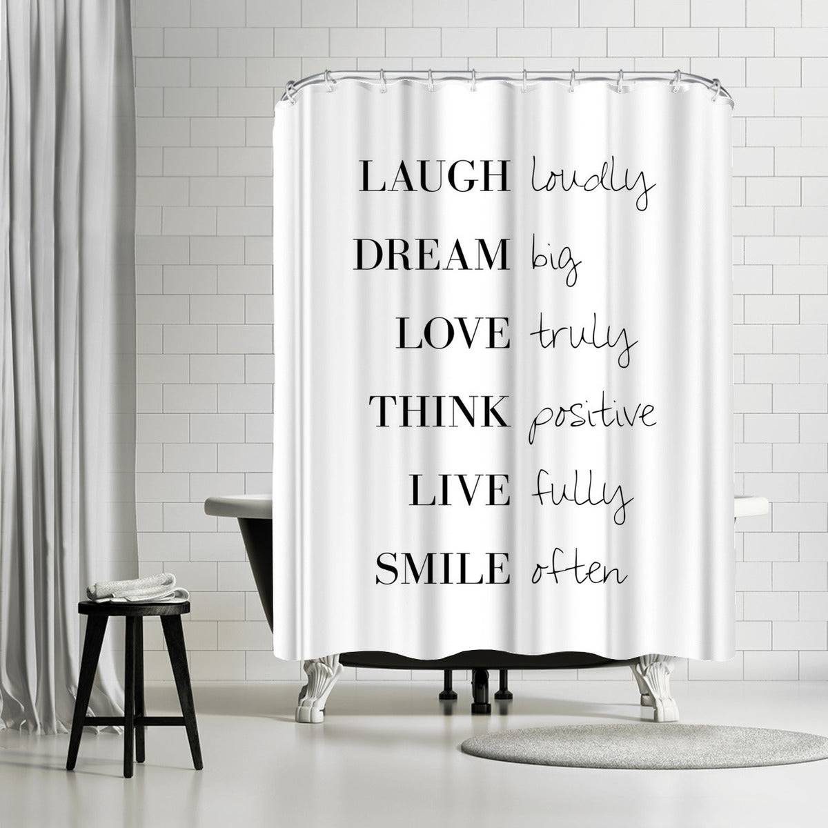 To Do List by Explicit Design Shower Curtain - Shower Curtain - Americanflat