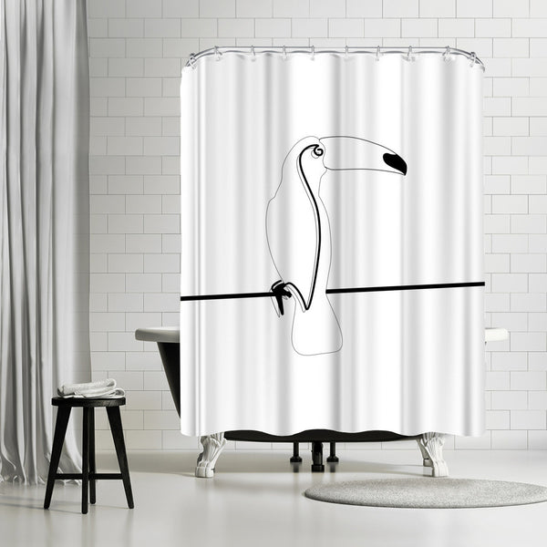 Toco Toucan by Explicit Design Shower Curtain
