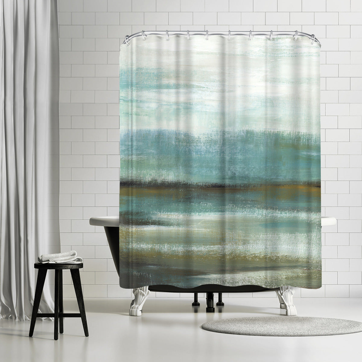 Sprawl I by PI Creative Art Shower Curtain - Shower Curtain - Americanflat