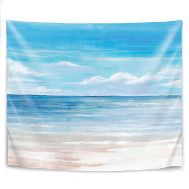 Sea Landscape Iii by PI Creative Art Tapestry - Wall Tapestry - Americanflat