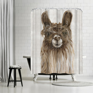 Suri Alpaca I by PI Creative Art Shower Curtain